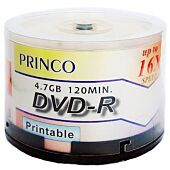 PRINCO DVD-R / 16x / 50 Cake / White 006158