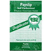 RBE PAYSLIP PAD A5 50 SETS DUPLICATE