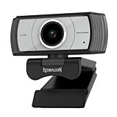 Redragon APEX 1080p Tripod Stand 30F FPS PC Webcam - Black
