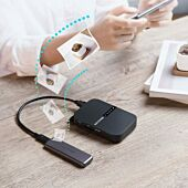 RAVPOWER AC750 6700mAh Wireless Travel FileHub|AP|Bridge|Router|SD Card Reader