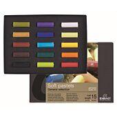 ROYAL TALENS REMBRANDT Soft Pastels Starter Set: 15 Half Pastels