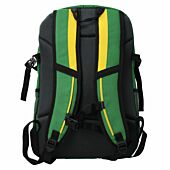 Springbok Flanker 28L Daypack Green and Gold