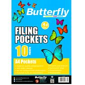 BUTTERFLY FILING 10 POCKETS A4SIZE