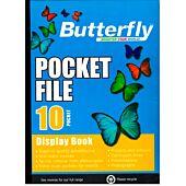 BUTTERFLY A4 10PG POCKET FILE