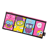 Butterfly Pencil Case Designed Deluxe 33cm Assorted Design