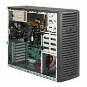 SuperMicro 732I-R500B Cost Effective Server Tower Chassis Mid-Tower No Motherboard