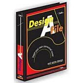 TREELINE DESIGN A FILE A4 2-D RING 40mm BLACK