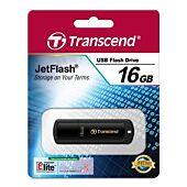 Transcend JetFlash 350 16GB USB 2.0 Piano Black