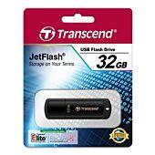 Transcend JetFlash 350 32GB USB 2.0 Piano Black