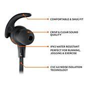 TAOTRONICS IPX5 Wireless Bluetooth 4.2 Up to 9 Hours Battery Headphones Black