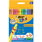 BIC KIDS 12 TURN AND COLOUR