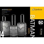 Travelwize Batman Series luggage -Small - Black