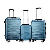 Travelwize Arrow ABS 3Pc Luggage Set Seafoam