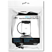Vantec - USB 3.0 to 2.5 inch SATA HDD Adapter with case