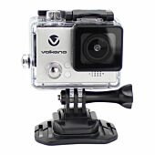 Volkano Lifecam Plus Series Action Camera - Silver