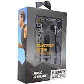 Volkano Motion Bluetooth Earphones Black and Grey