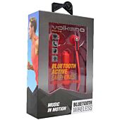 Volkano Motion Bluetooth Earphones Red and Black