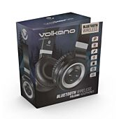 Volkano Lunar series Bluetooth headphones - Black and Silver
