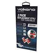 Volkano Groove series Turntable replacement style 2 Pack