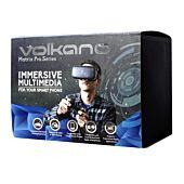 Volkano Matrix Pro Series VR headset Black