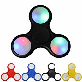 Volkano Spin series LED spinner - Black Blue Red Yellow