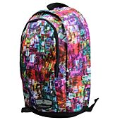 Volkano Kaleidoscope Backpack Multi-Coloured