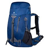 Volkano Glacier 45L Hiking Backpack Blue