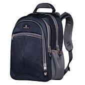 Volkano Orthopaedic Backpack 27L Navy and Grey
