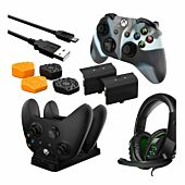Sparkfox Premium Player Pack 2xBattery Pack|1xCharge Cable|1xCharging Station|1xHeadset|1xPremium Thumb Grip Pack