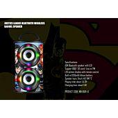 Warner Barrel Bluetooth Speaker - Justice League