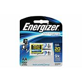 Energizer Lithium AA Blister Pack 2