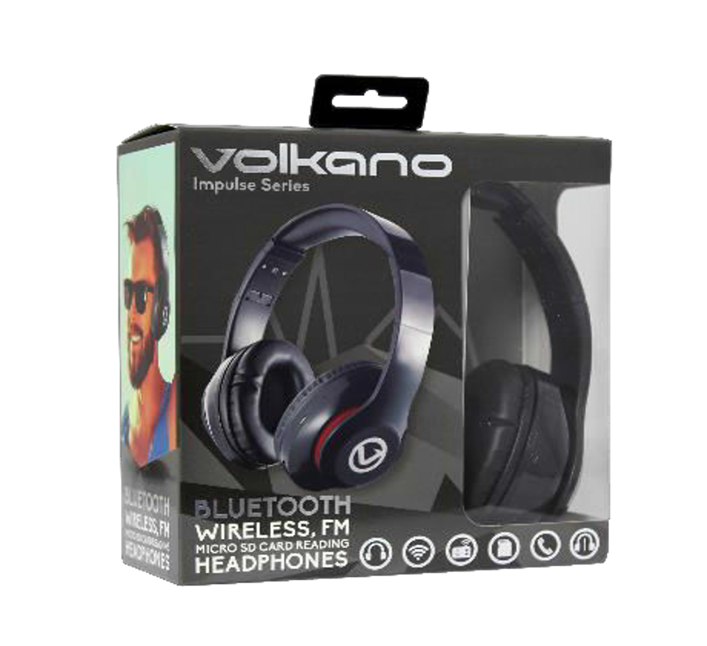 Headphones & Earbuds - Volkano Impulse Series Bluetooth